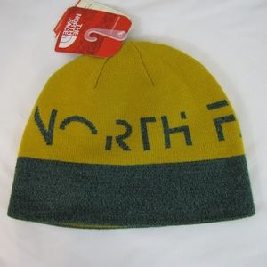 North Face Unisex One Size Reversible TNF Beanie
